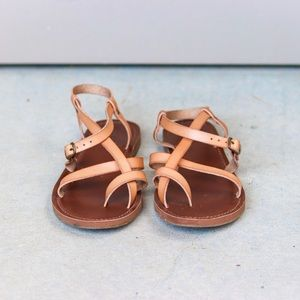 Mossimo Nude Sandals, Size 7.5
